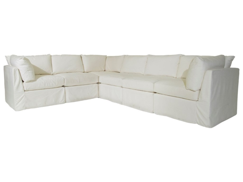 Mccreary Modern 1058 Slipcover Sectional