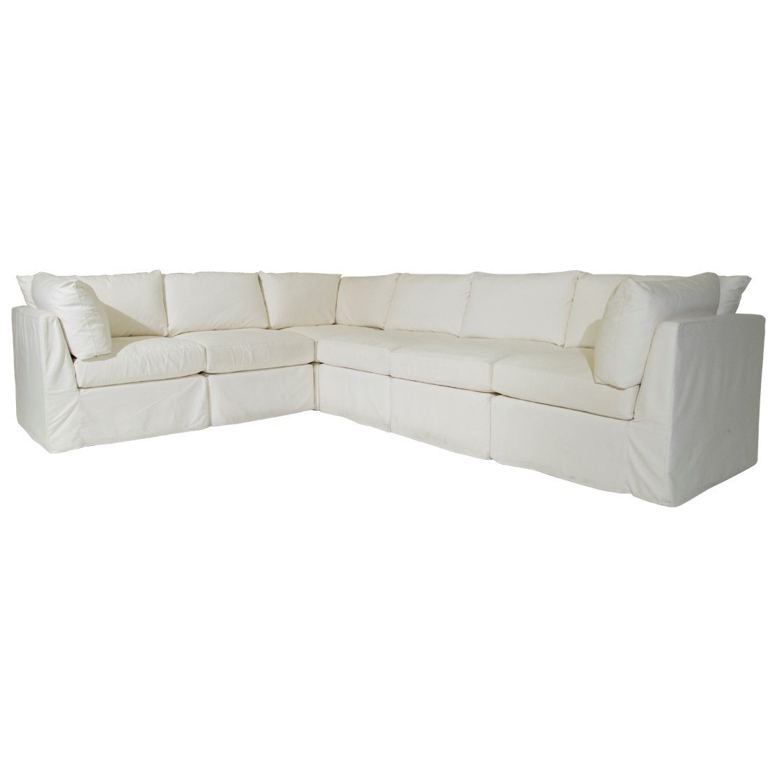 Etonnant McCreary Modern 1058Slipcover Sectional ...