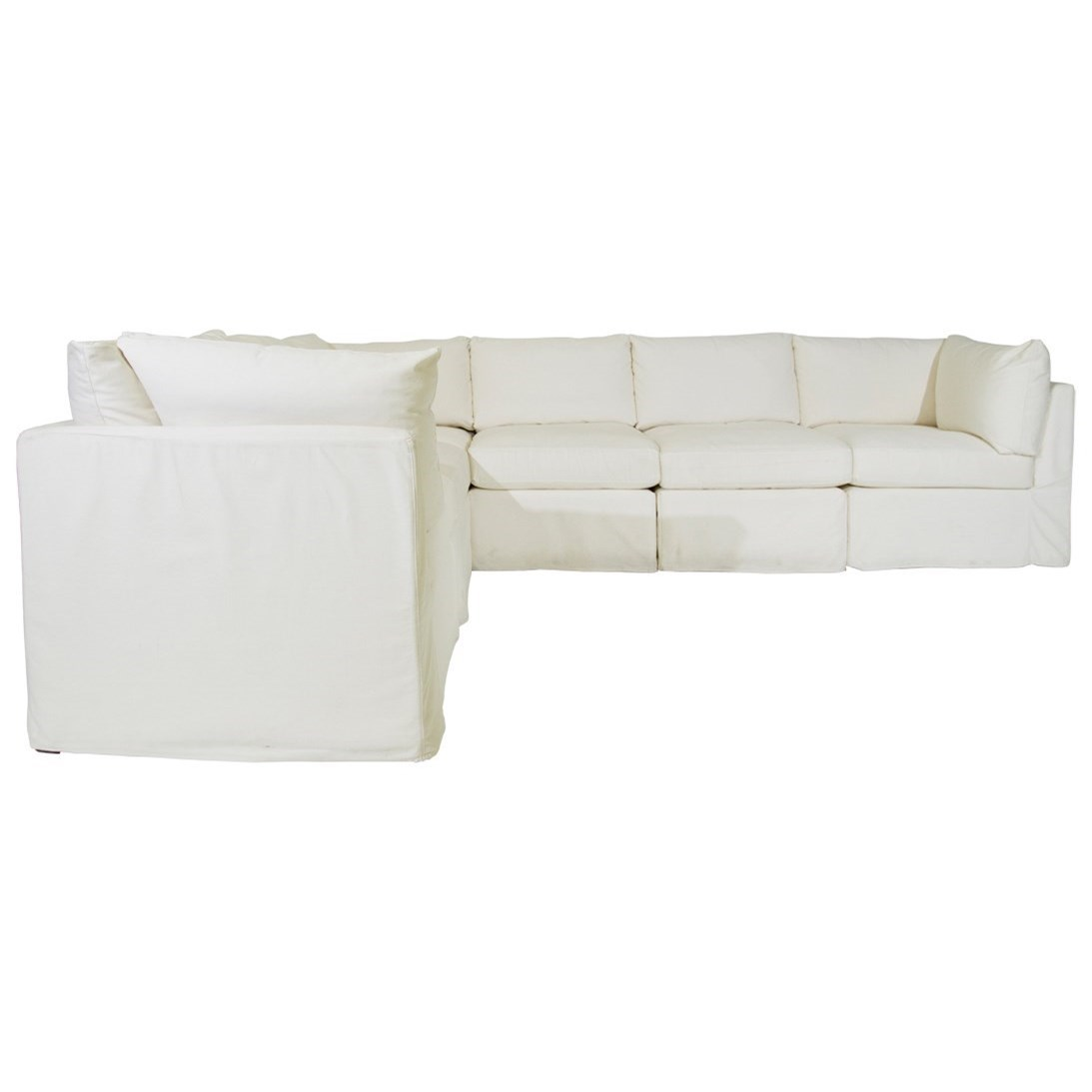 McCreary Modern 1058Slipcover Sectional; McCreary Modern 1058Slipcover  Sectional