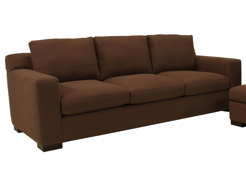 McCreary Modern 1095Contemporary Three Seat Sofa