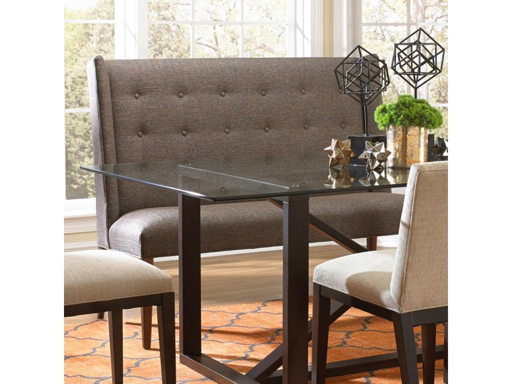BeModern ArgoContemporary Dining Set with Settee