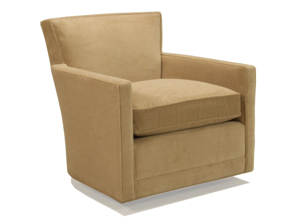 McCreary Modern 1129Leather Swivel Glider Chair