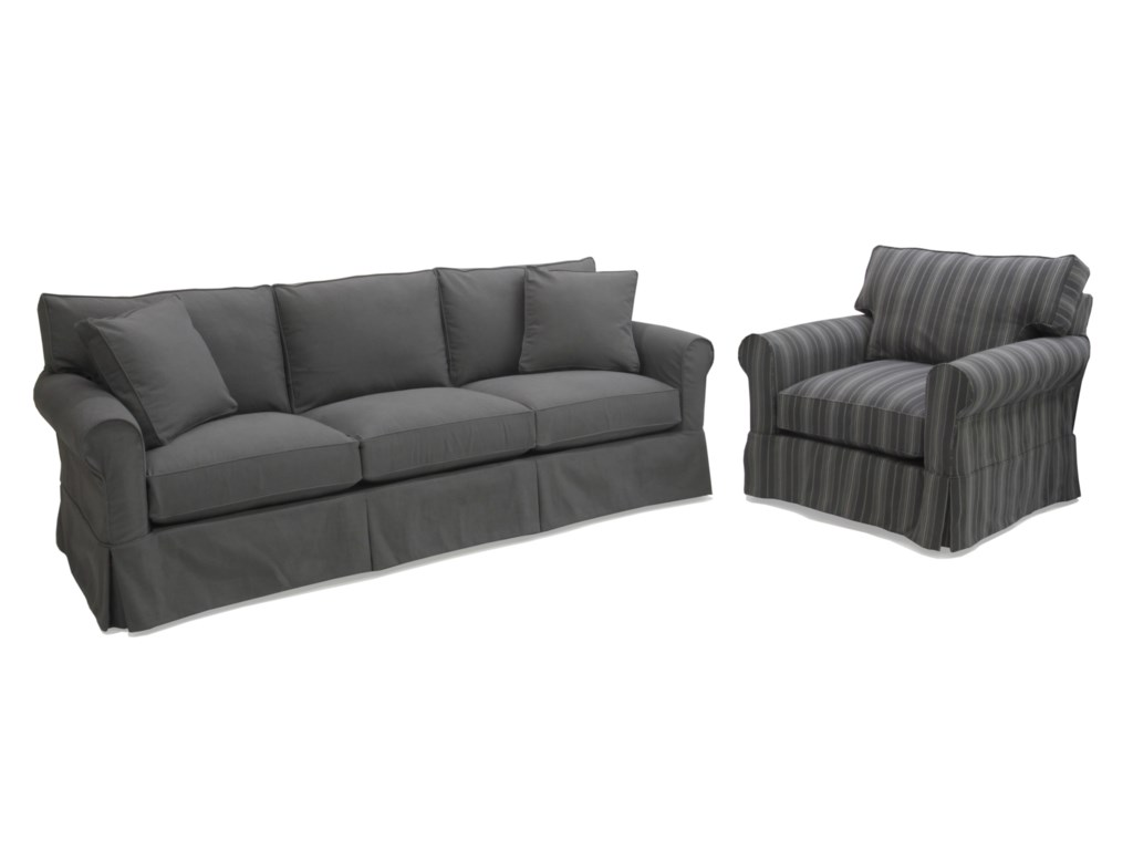 McCreary Modern 1252Slipcover Sofa