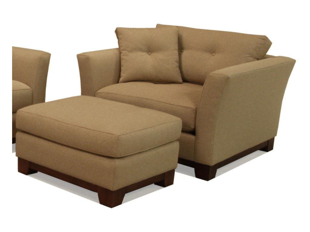 McCreary Modern 1260Chair and Ottoman
