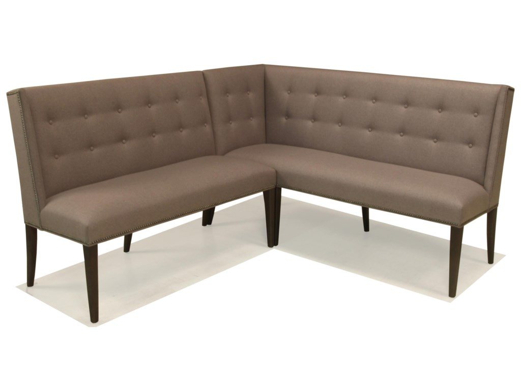 McCreary Modern 1321Small Corner Dining Banquette