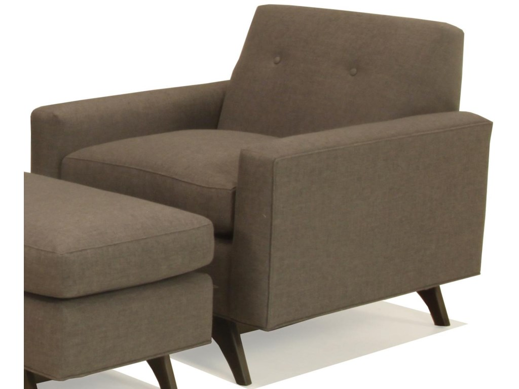 McCreary Modern 1482Chair and Ottoman