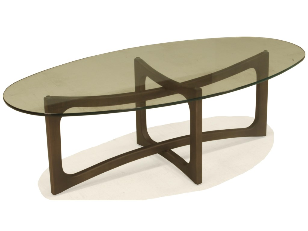 McCreary Modern KaiaOval Cocktail Table