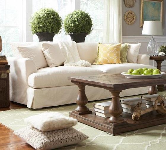Merveilleux BeModern CloudGrand Slipcover Sofa ...