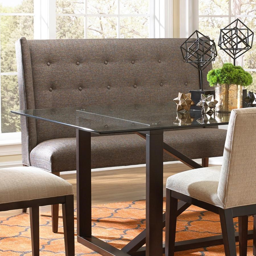 settee dining room table. confession i pinned this because i love