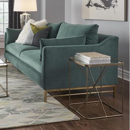Sofa with Metal Base