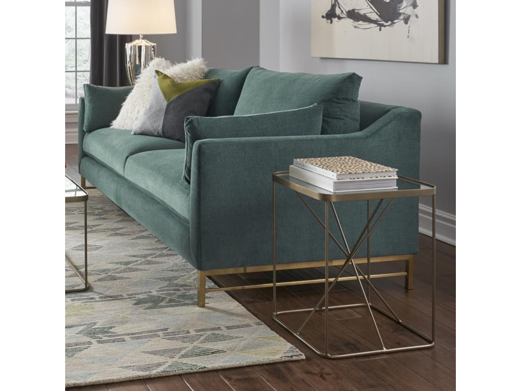 BeModern DelphineSofa with Metal Base