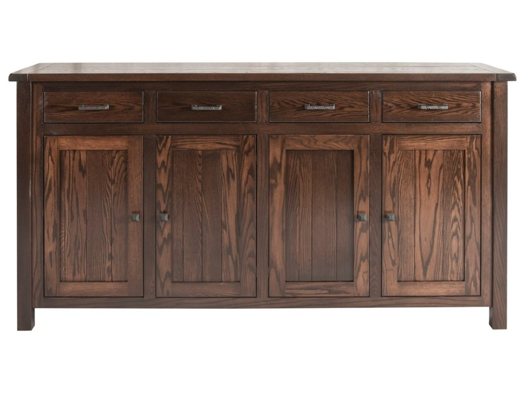 Meadow Lane Wood AdeleBuffet with 4 Doors