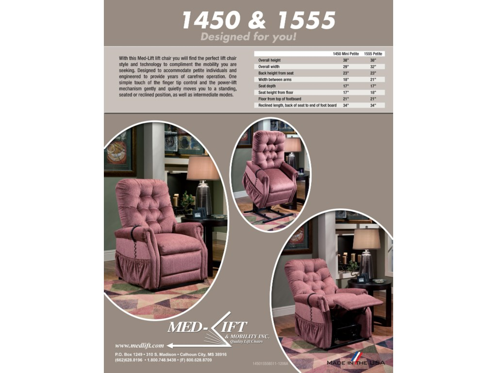 Med-Lift & Mobility 14 and 15 SeriesLift Recliner