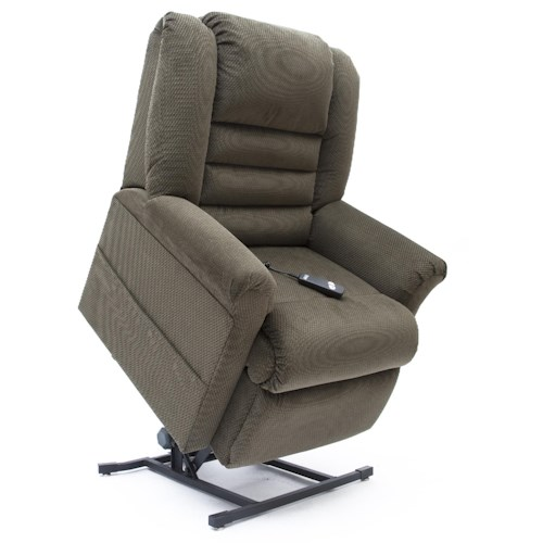 Windermere Motion Cherry Hill 3 Position Chaise Lounge Lift Recliner