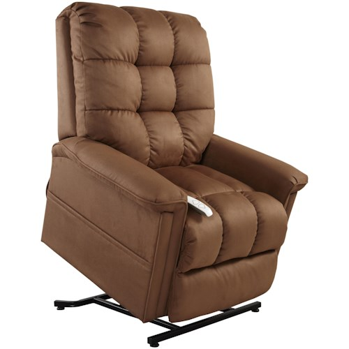 Windermere Motion Lift Chairs 3-Position Power Reclining Lift Chair with Biscuit Back