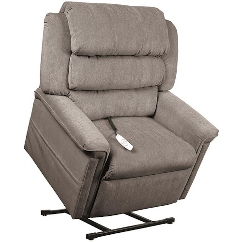 Windermere Motion Lift Chairs 3-Position Reclining Lift Chair with Padded Arms