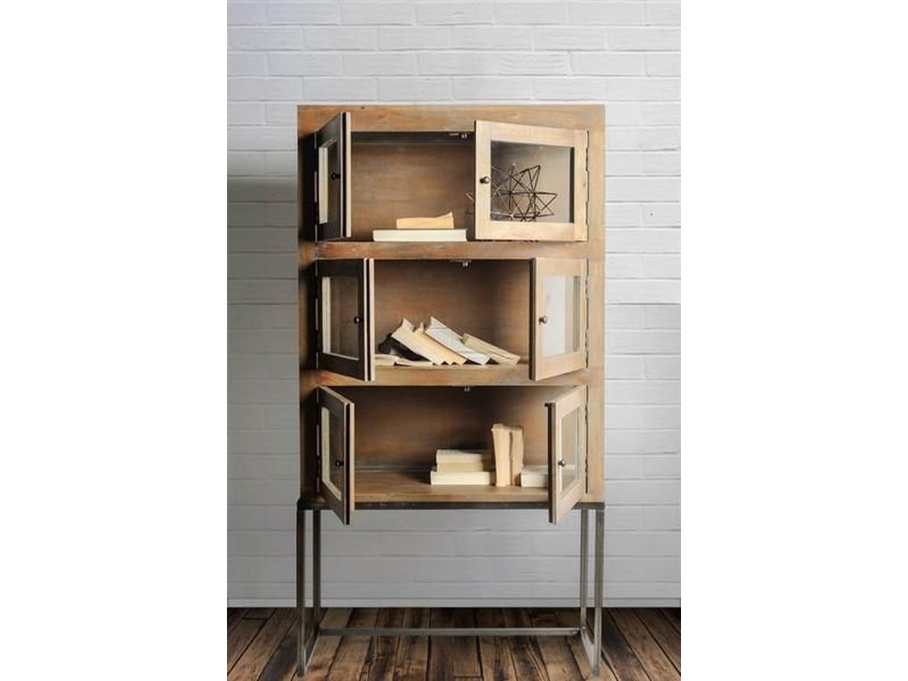 Mercana Ruby-Gordon AccentsMango Wood Cabinet