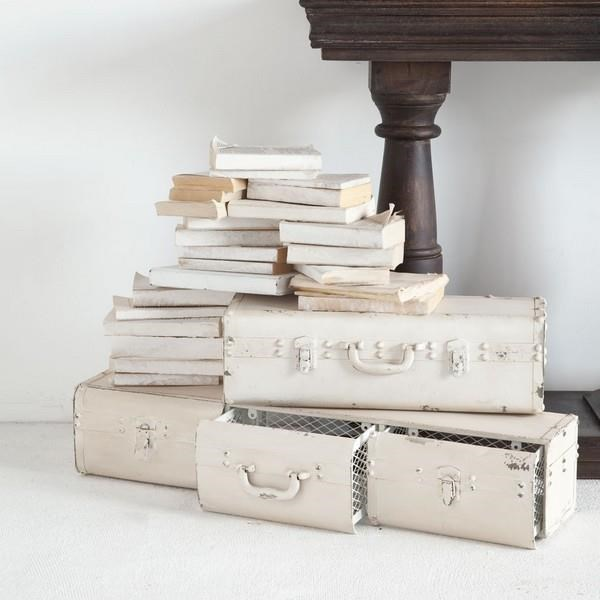 Mercana Ruby Gordon Accents Antiqued Metal Shelf