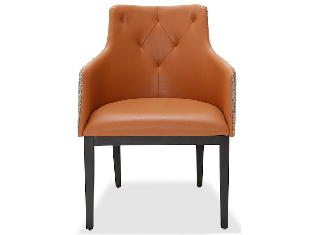 AICO - Michael Amini 21 CosmopolitanTufted Arm Chair