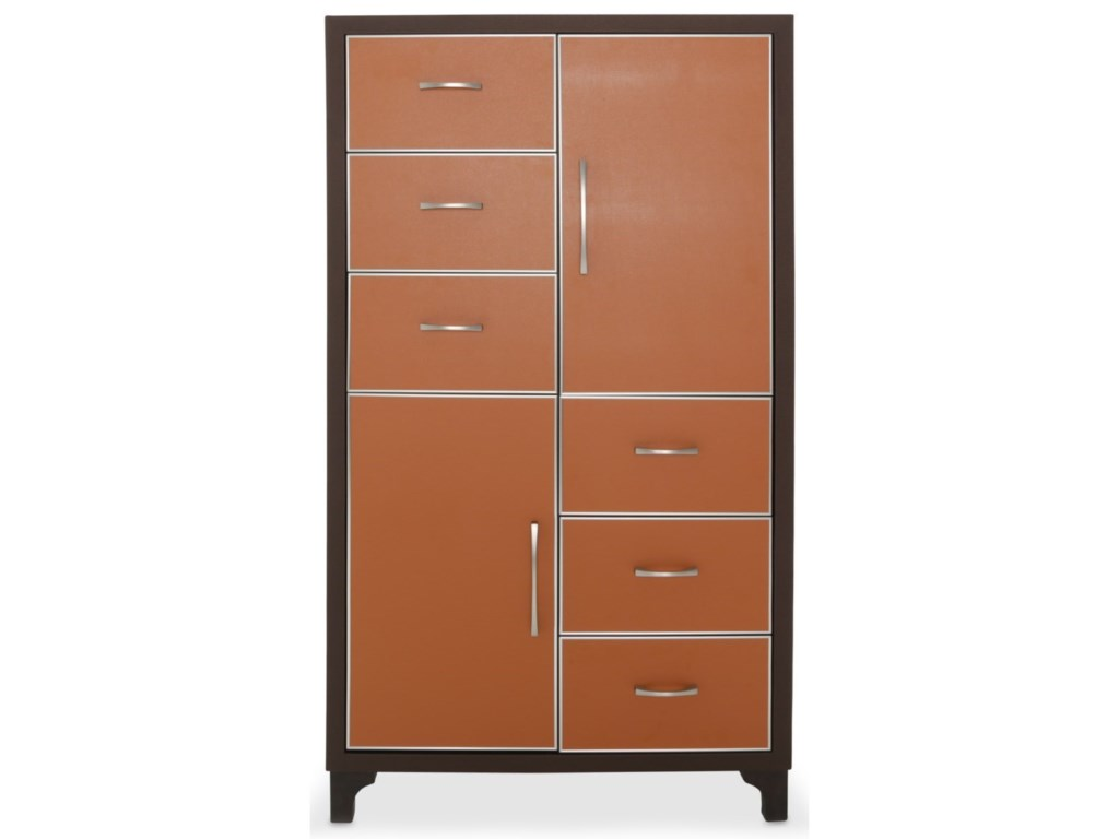 AICO - Michael Amini 21 Cosmopolitan6-Drawer Chest