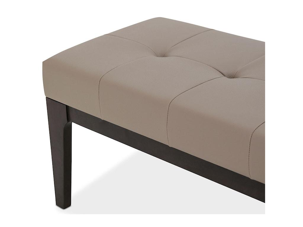 AICO - Michael Amini 21 CosmopolitanBed Bench (Non-Storage)
