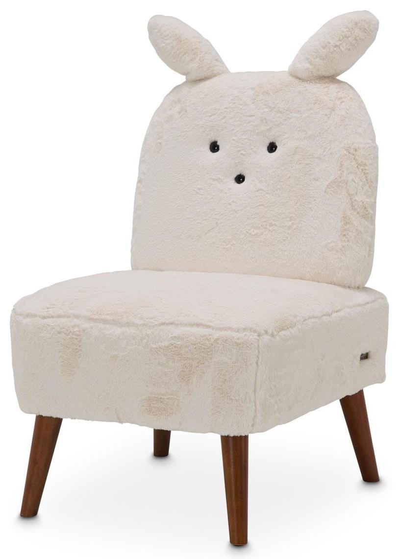 A La Carte Armless Bunny Chair