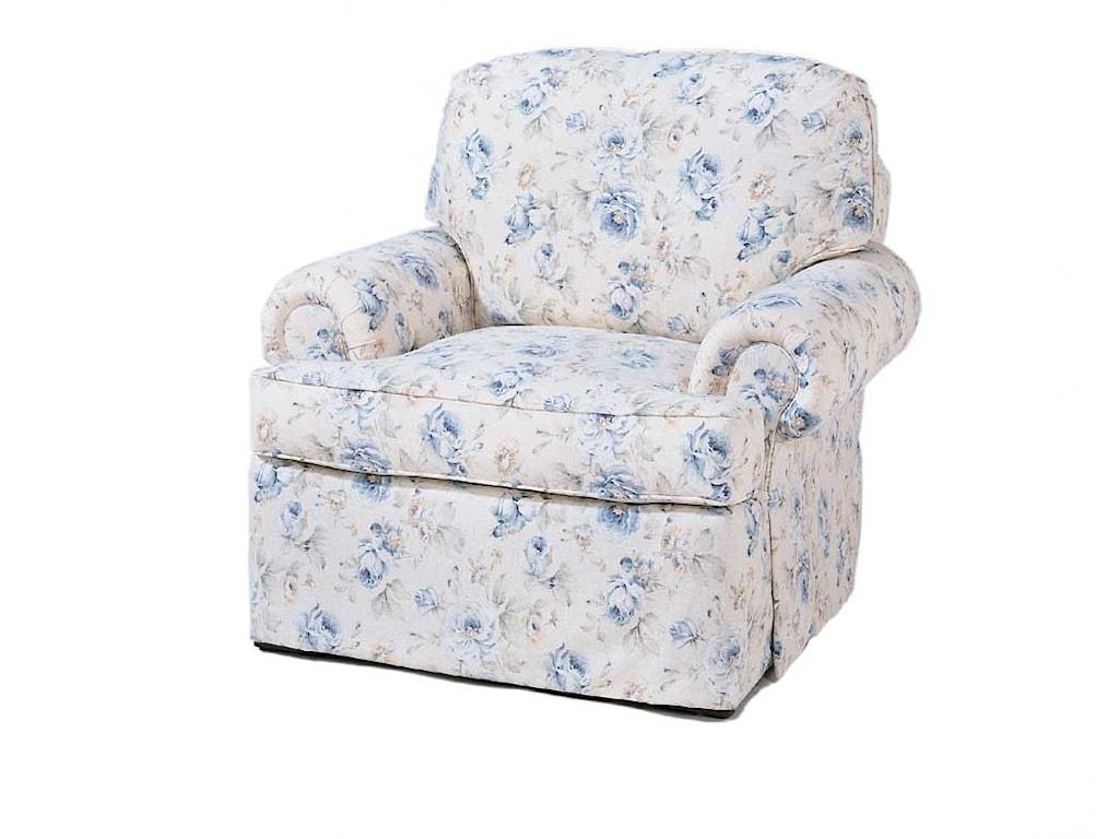 Miles Talbott 1665 SeriesSwivel Chair