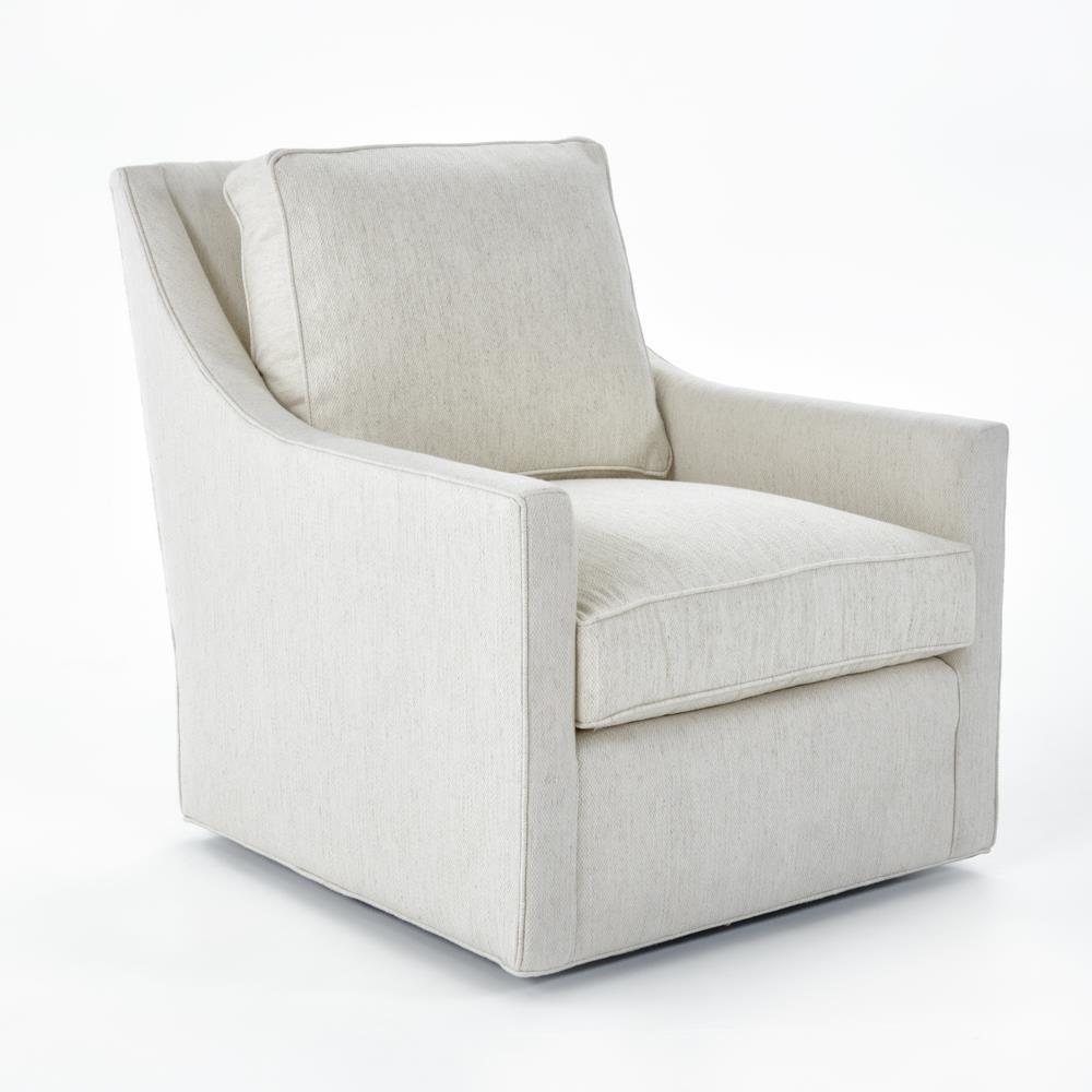 Miles Talbott Fairfax Contemporary Swivel Chair   Baeru0027s Furniture    Upholstered Chair