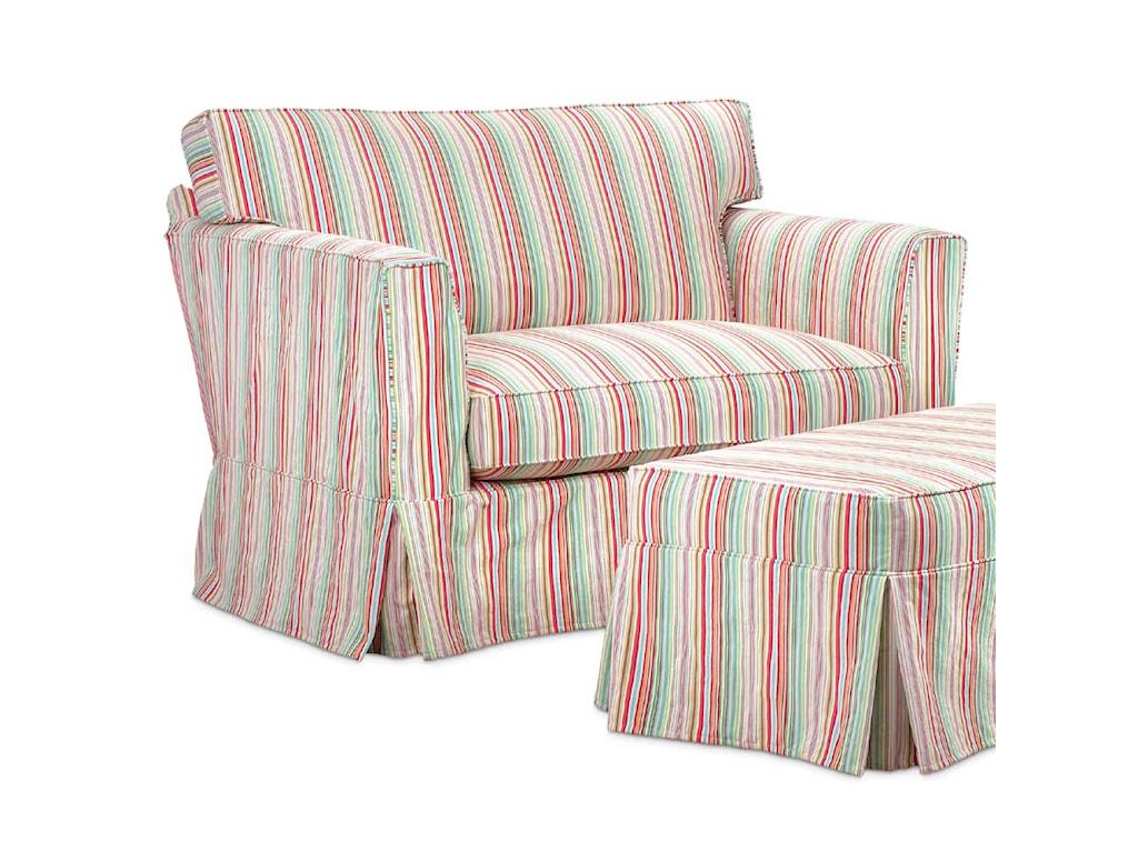 Miles Talbott Washable Wonders MarySlipcover Chair & a Half