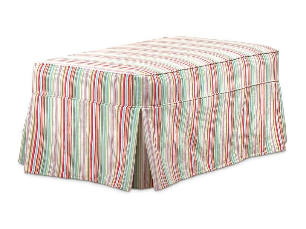 Miles Talbott Washable Wonders MarySlipcover Ottoman