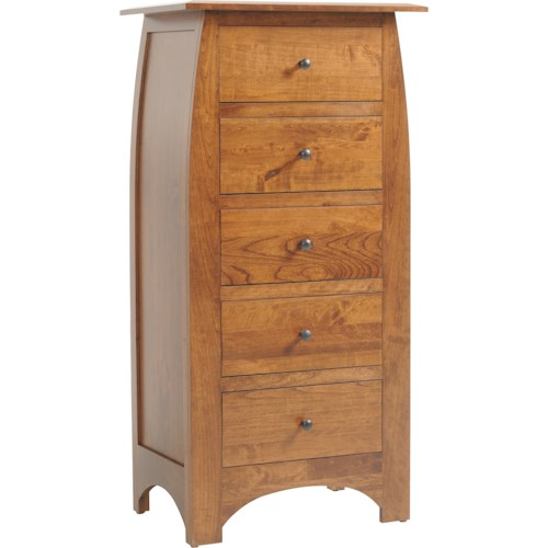 Rotmans Amish Davidson Meadow 5-Drawer Chest