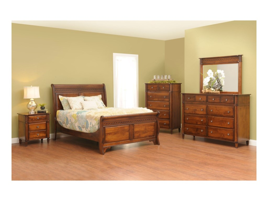 Millcraft EminenceKing Bedroom Group