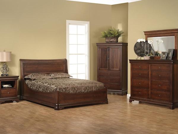 King Euro Bedroom Group