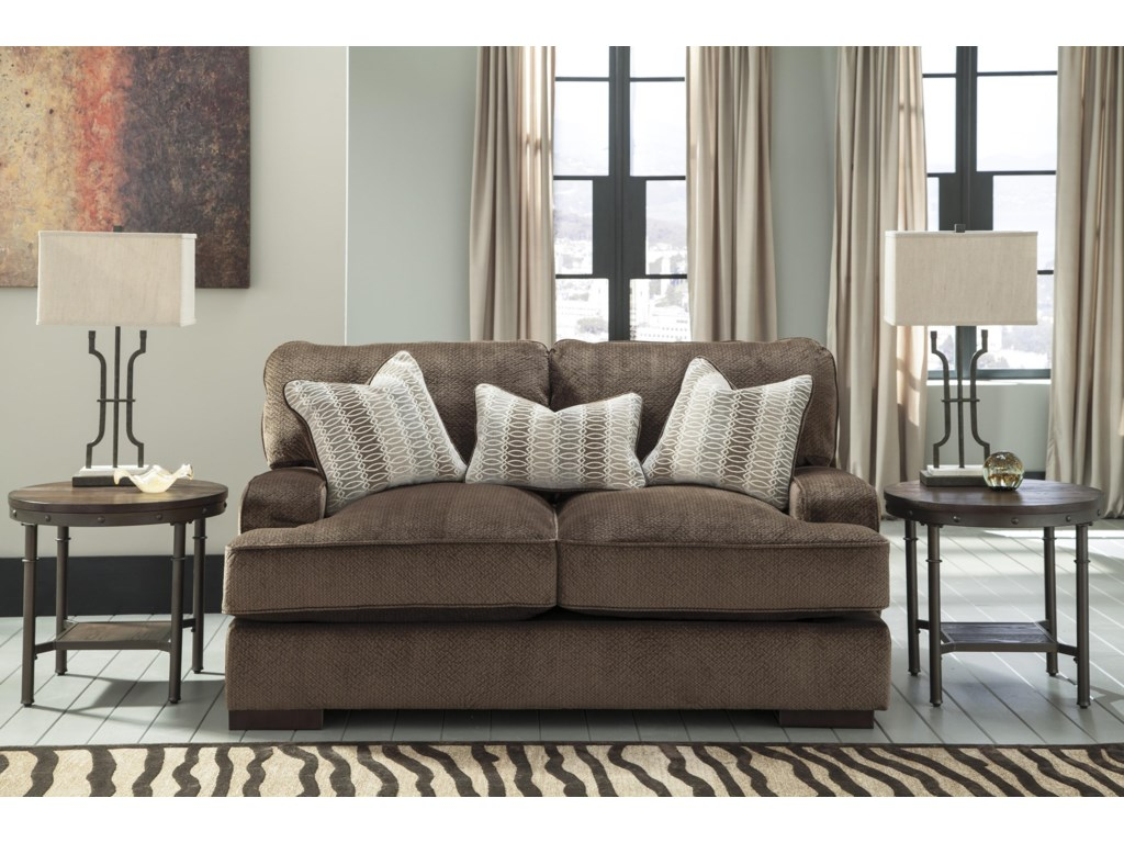 Millennium FieldingChcoloate Living Room Set