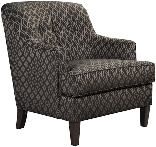 Millennium Aquaria Tufted Back Accent Chair