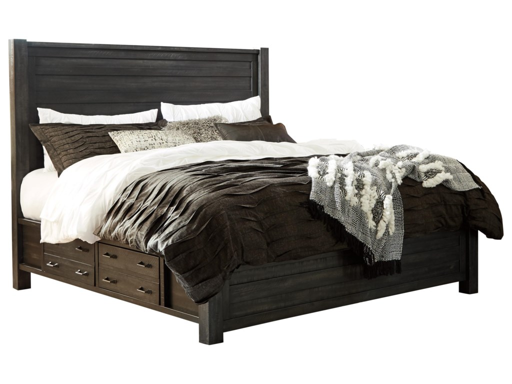 Millennium BaylowKing Panel Bed with Storage