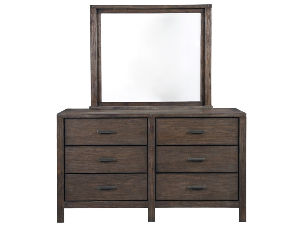 Millennium DellbeckDresser & Bedroom Mirror