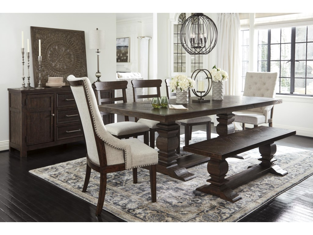 Hillcott 12 PC Dining Room Set