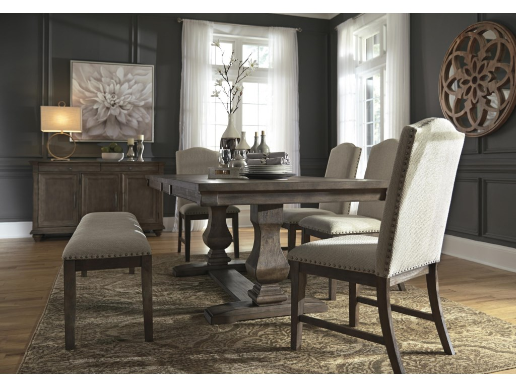 Johnelle 7 PC Dining Room Set