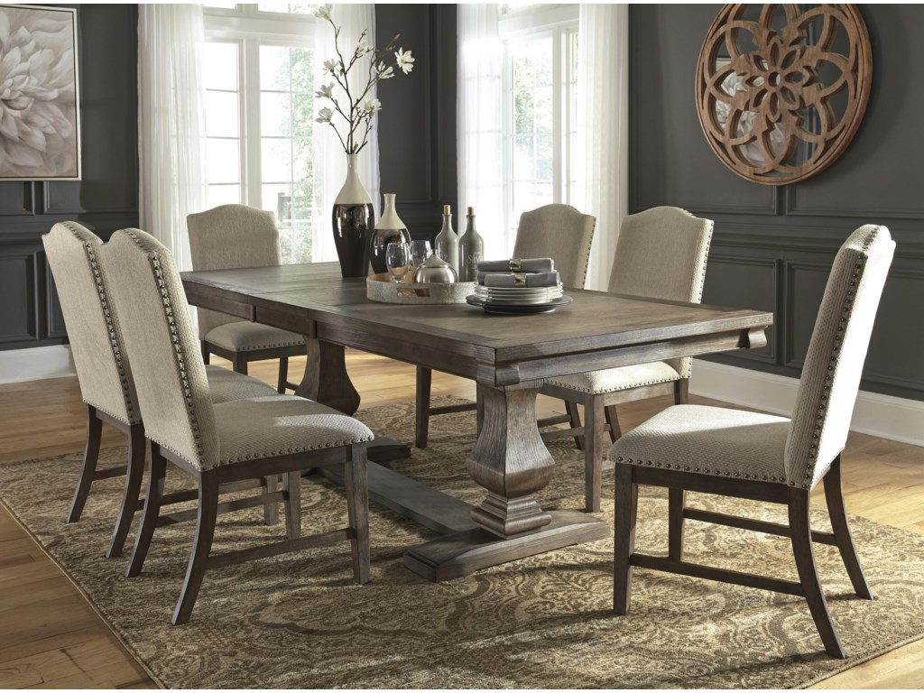 Johnelle 8 Pc Dining Room Set
