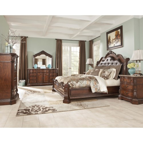 Millennium Ledelle California King Bedroom Group Westrich - Bedroom appliances