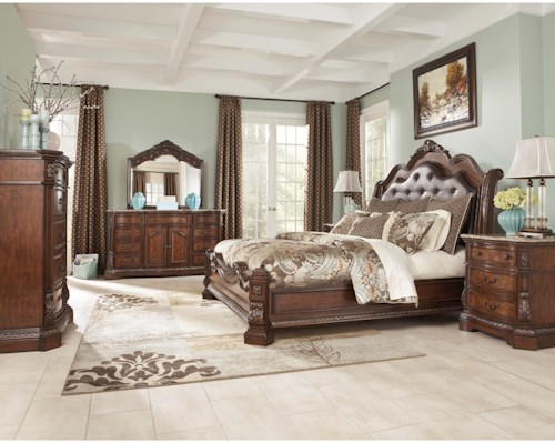 Millennium Ledelle King Bedroom Group