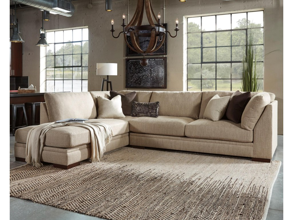 Millennium Malakoff2-Piece Sectional with Left Chaise