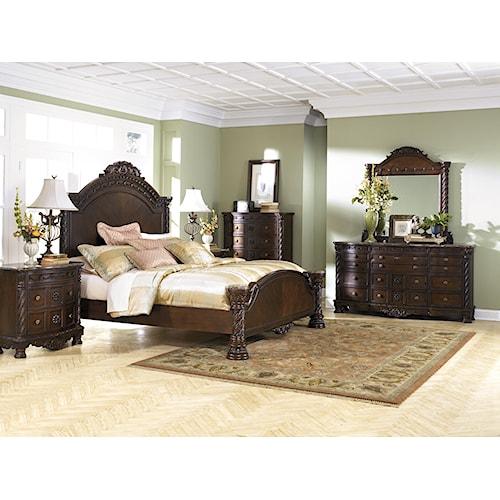 Millennium North Shore King Bedroom Group