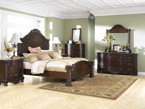 Millennium North Shore Queen Bedroom Group