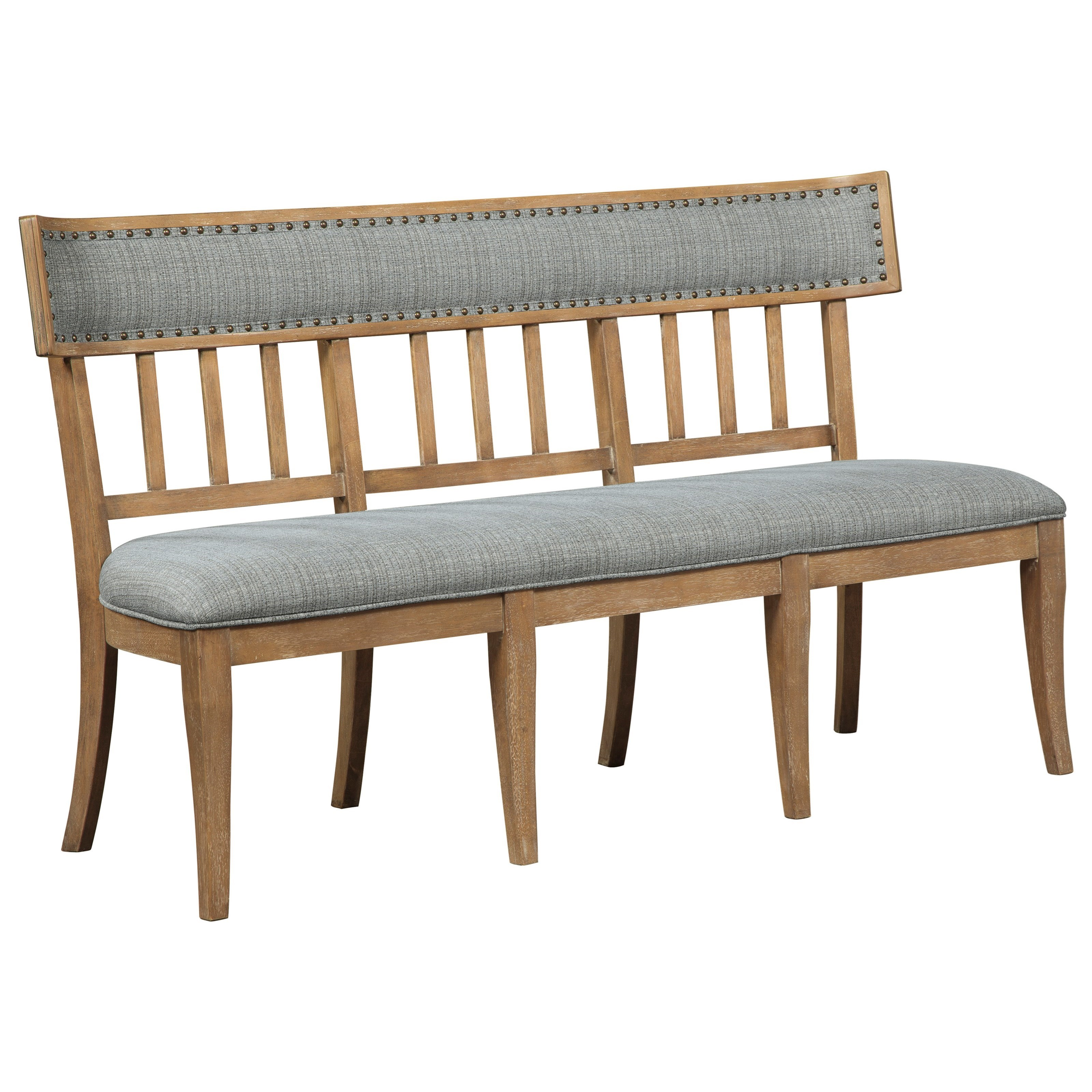 upholstered dining bench black millennium ollesburgupholstered bench ollesburg d72508 upholstered dining bench with nail head