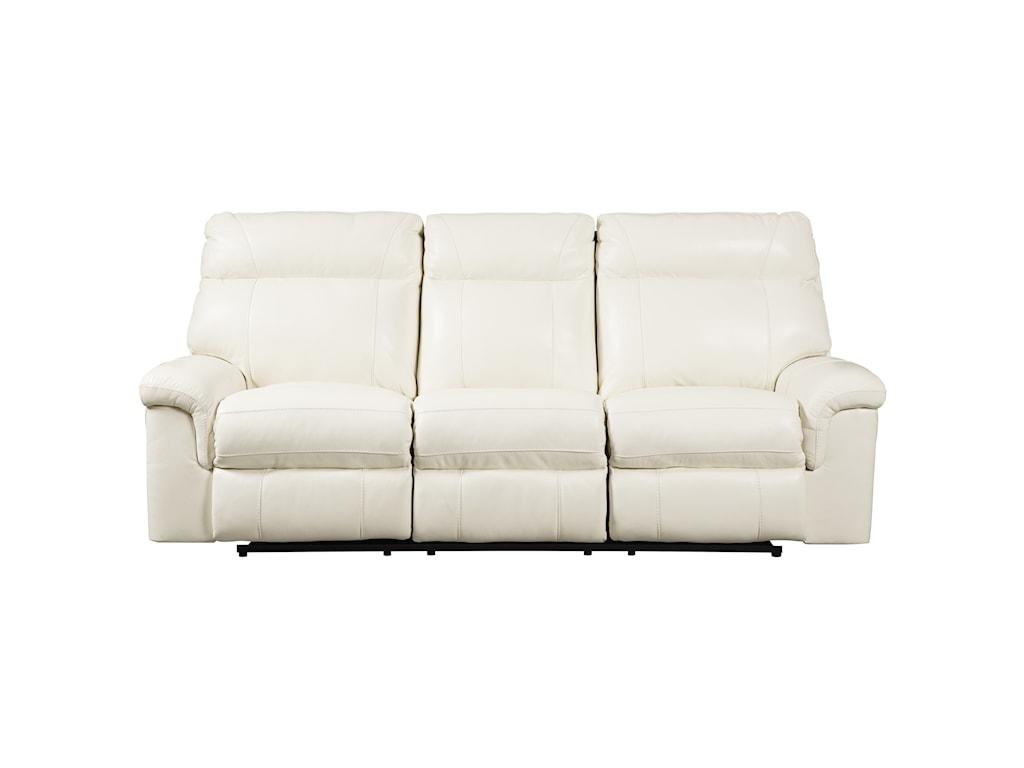 Millennium WhitevillePower Reclining Sofa w/ Adjustable Headrest