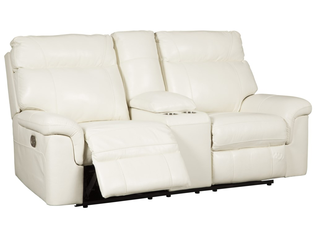 Millennium WhitevillePower Recl. Loveseat w/ Con & Adj Headrests