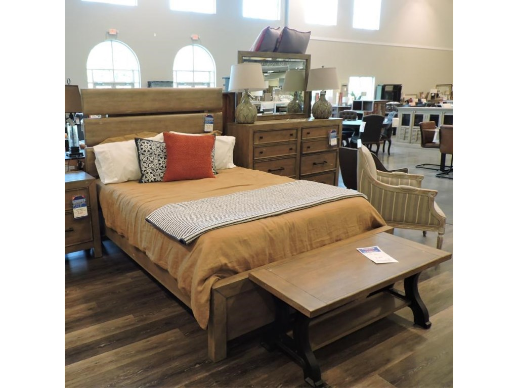 Miscellaneous ClearanceQueen Plank Bed