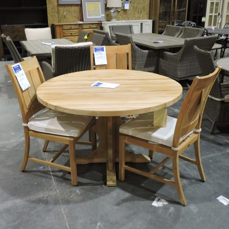 Clearance Teak Outdoor Dining Table